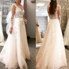 Свадебное платье напрокат А-силуэт Vanilla room Платье свадебное Марго