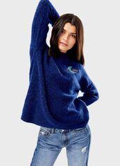 Кофта, блузка, футболка женская O'stin Джемпeр из пряжи с шерстью LK4T85-64