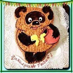 Торт МЕГАТОРТ Торт «Винни-Винни»