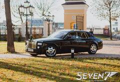 Аренда авто Rolls-Royce Phantom чёрный