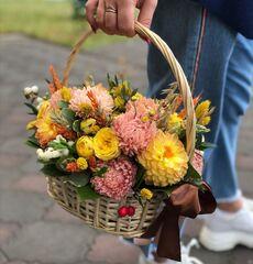 Магазин цветов Цветы на Киселева Композиция «Тёплая встреча»