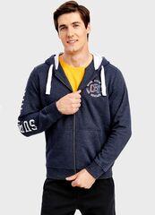 Кофта, рубашка, футболка мужская O'stin Толстовка с капюшоном MT4T57-68