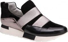 Обувь женская Ekonika 2 Полуботинки женские 1457-03 black, nikel