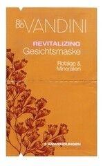 Уход за лицом Aldo Vandini Оздоравливающая маска для лица «Красные водоросли и Минералы» Revitalizing Face Mask Red Algae & Minerals
