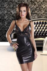 Интим-магазин Eroticon Платье Donna, чёрное, L/XL