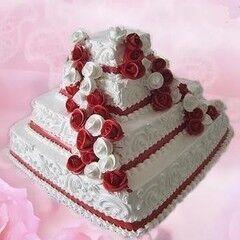 Торт Милано Свадебный торт №1