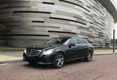 Прокат авто Прокат авто с водителем, Mercedes-Benz E-class W212 чёрный