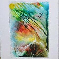 23 февраля Семейный центр Катерины Ковровой Cертификат на Мастер-класс по живописи «Влажная акварель»