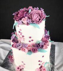 Торт Заказторта.бай Свадебный торт №3