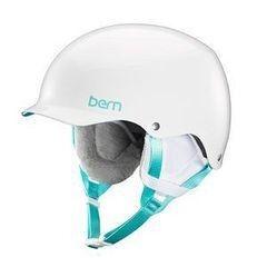Сноубординг Bern Шлем Team Muse EPS Gloss White