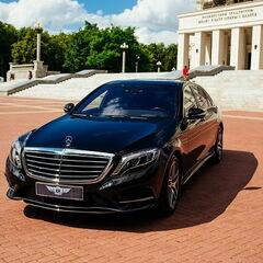 Прокат авто Прокат авто с водителем, Mercedes-Benz W222 S-class черного цвета