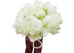 Магазин цветов Долина цветов Свадебный букет №3