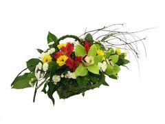 Магазин цветов Florita (Флорита) Композиция поздравительная с цимбидиумом