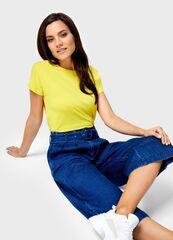 Кофта, блузка, футболка женская O'stin Базовая футболка из хлопка женская LT6U81-35