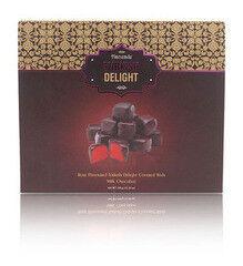 Подарок на Новый год Hacizade Рахат лукум с розой в шоколаде, 350 гр