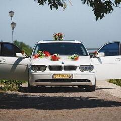 Прокат авто Прокат авто с водителем, BMW E66 7 series белого цвета