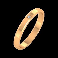Ювелирный салон ZORKA Обручальное кольцо 1D3022
