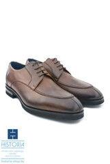 Обувь мужская HISTORIA Мужские туфли из фактурной кожи Cap toe (Stich cap)