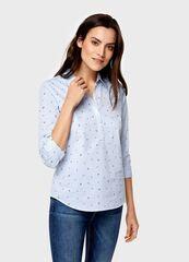 Кофта, блузка, футболка женская O'stin Рубашка с принтом LS4U51-02