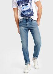 Брюки мужские O'stin Голубые джинсы с интенсивной стиркой MP1T31-D5