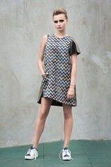 Платье женское MISUTERI Платье Suribu Blue MSS0018