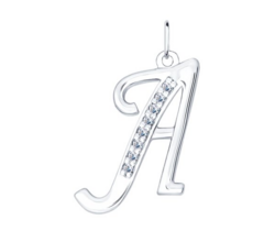 Ювелирный салон Sokolov Кулон буква «А» 94031364