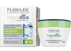 Уход за лицом Floslek Интенсивно увлажняющий крем Happy per Aqua Intensively moisturizing cream, 50 мл