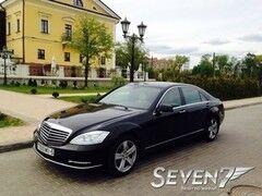 Аренда авто Mercedes-Benz S-сlass W221 long restyling black