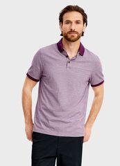 Кофта, рубашка, футболка мужская O'stin Полo из структурного полотна MT4T36-74