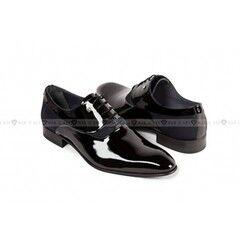 Обувь мужская Keyman Туфли мужские оксфорд лак черные
