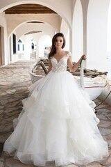 Свадебное платье напрокат Bonjour Платье свадебное «Leoni» из коллекции LA SENSUALITE 2017