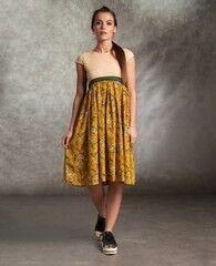 Платье женское MISUTERI Платье Makvin Yellow SS0161