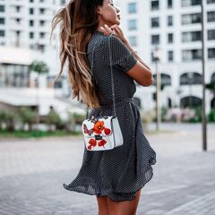 Магазин сумок Vezze Кожаная женская сумка C00501