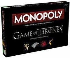 Магазин настольных игр Hasbro Настольная игра «Монополия. Игра престолов»