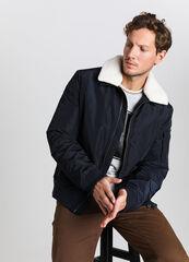 Верхняя одежда мужская O'stin Куртка-бомбер с воротником из искусственного меха MJ6V55-69