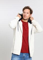 Кофта, рубашка, футболка мужская O'stin Толстовка мужская с принтом на рукавах MT4V57-02