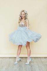 Вечернее платье Кураж Вечернее платье светло-голубое