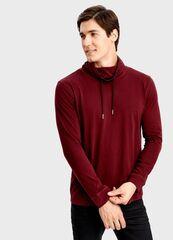 Кофта, рубашка, футболка мужская O'stin Футболка с воротником-трубой-R9