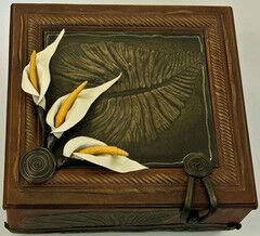 Подарок Славутасць Шкатулка «Листья»