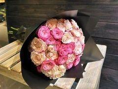 Магазин цветов Cvetok.by Букет «Из 11 кустовых роз»