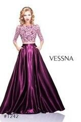 Вечернее платье Vessna Топ и Длинная юбка арт.1242 из коллекции VESSNA NEW