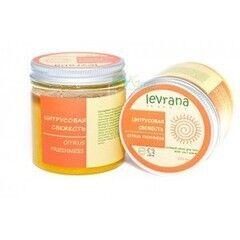 Уход за телом Levrana Organic Солевой скраб для тела «Цитрусовая свежесть»