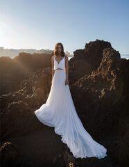 Свадебное платье напрокат А-силуэт Blammo-Biamo Свадебное платье Dream Ocean Iliv