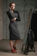 Платье женское MISUTERI Платье Wansuriba Gray MSS0106
