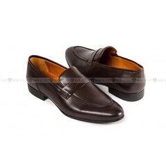 Обувь мужская Keyman Туфли мужские лоферы коричневые классические