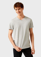 Кофта, рубашка, футболка мужская O'stin Футболка мужская с V-горловиной MTA102-92