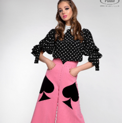 Костюм женский Pintel™ Комплект из блузы и брюк Batoöly