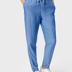 Брюки женские O'stin Свободные брюки изо льна LP4UA3-66