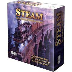Магазин настольных игр Hobby World Настольная игра «Steam. Железнодорожный магнат»