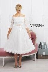 Вечернее платье Vessna Топ и Юбка миди арт.1206 из коллекции VESSNA Party